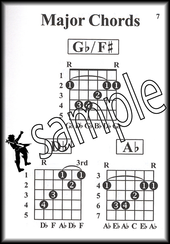 Pocketbook Deluxe Series Jazz Guitar Chords Chord Book by William ...