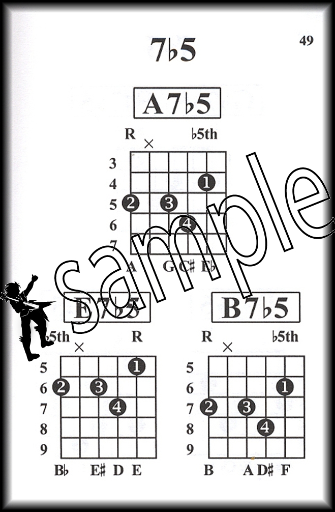 Pocketbook Deluxe Series Jazz Guitar Chords Chord Book By William