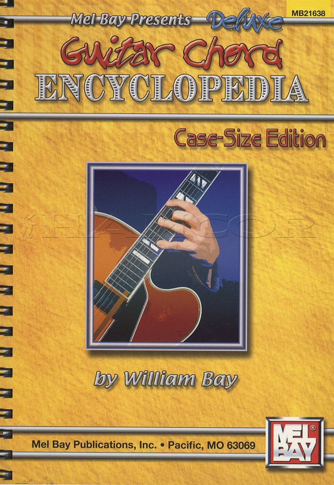 Mel Bay Presents Deluxe Guitar Chord Encyclopedia Case Size Edition