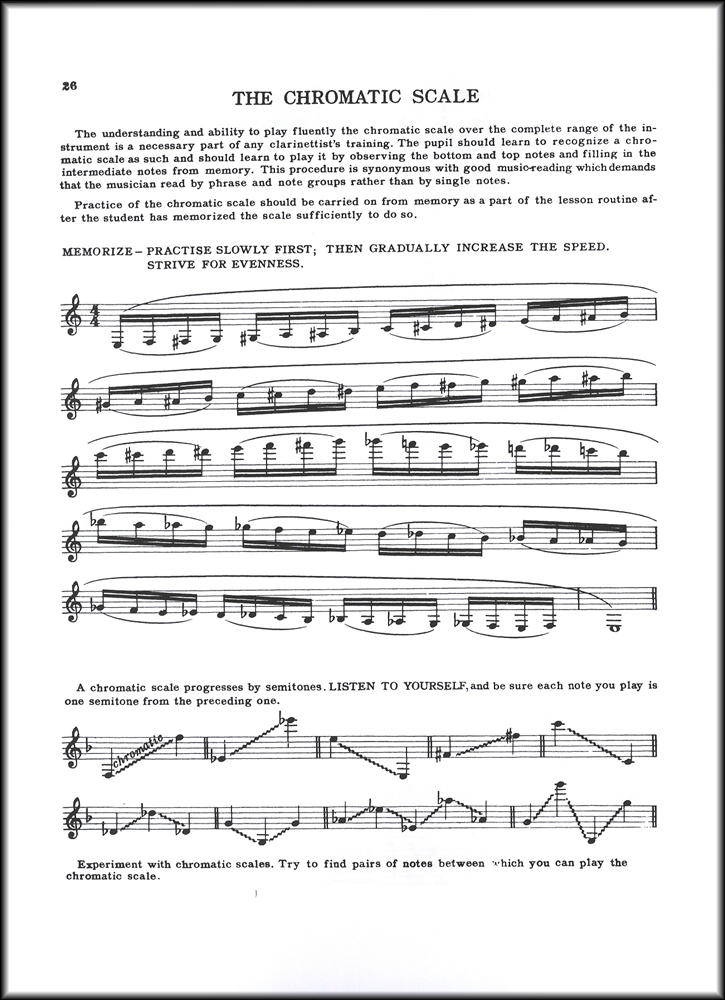 All Music Chords sheet music scale : A Tune A Day for Clarinet 2 Sheet Music Book Learn How To Play ...