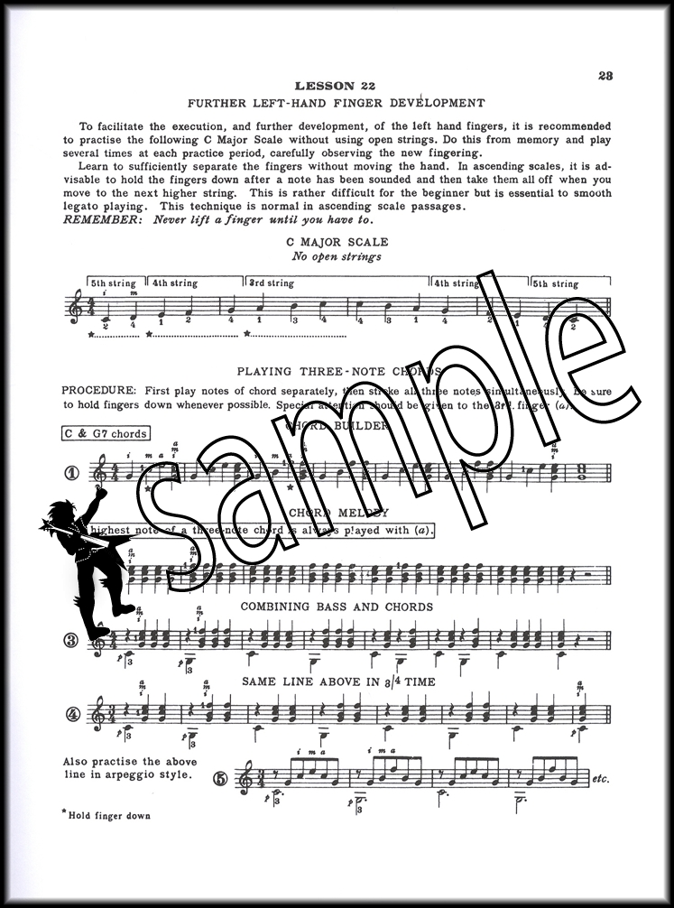 A Tune A Day For Classical Guitar Book 1 Hamcor