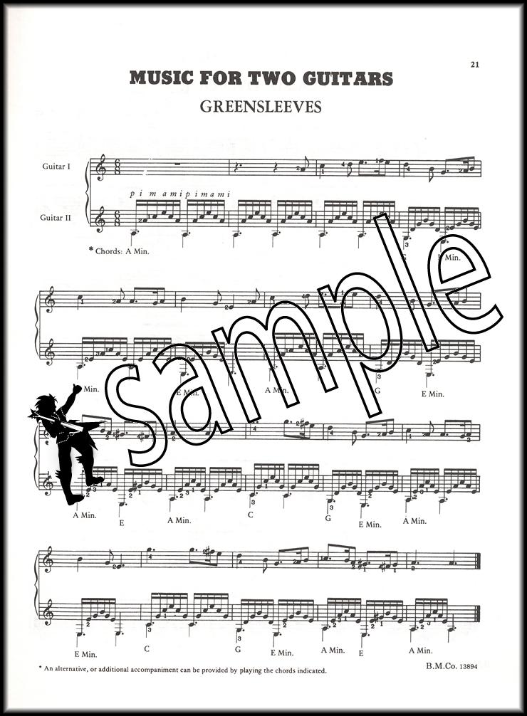 A Tune A Day Classical Guitar Repertoire Hamcor