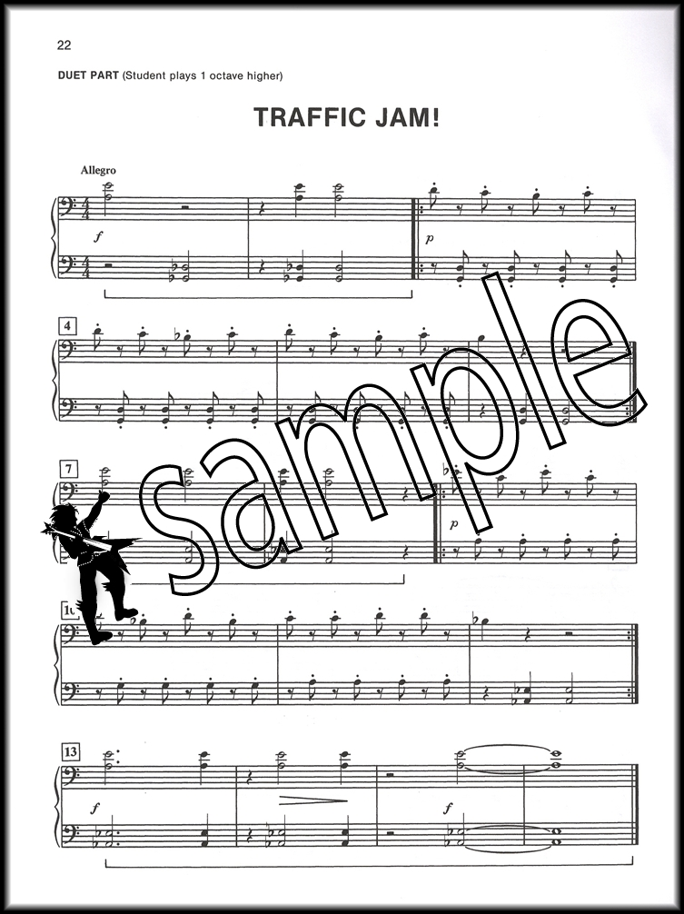 Alfreds Basic Piano Library Duet Book Level 1B