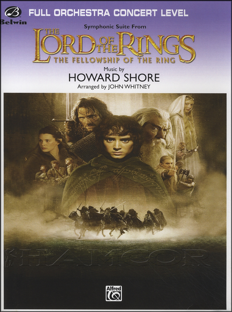 lord of the rings the fellowship of the ring full orchestra score
