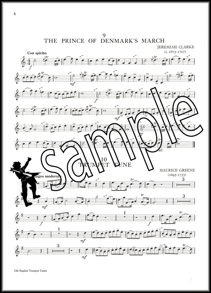 Old english trumpet tunes book 1 hamcor for Old house tunes