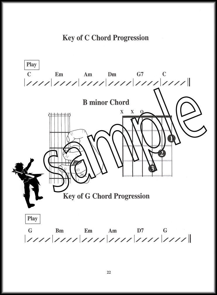 Childrens Guitar Chord Bookvideo Hamcor