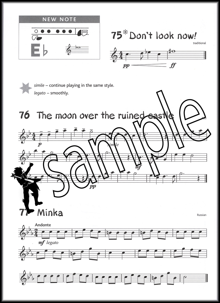 Abracadabra for flute 3rd edition sheet music book with cds learn.