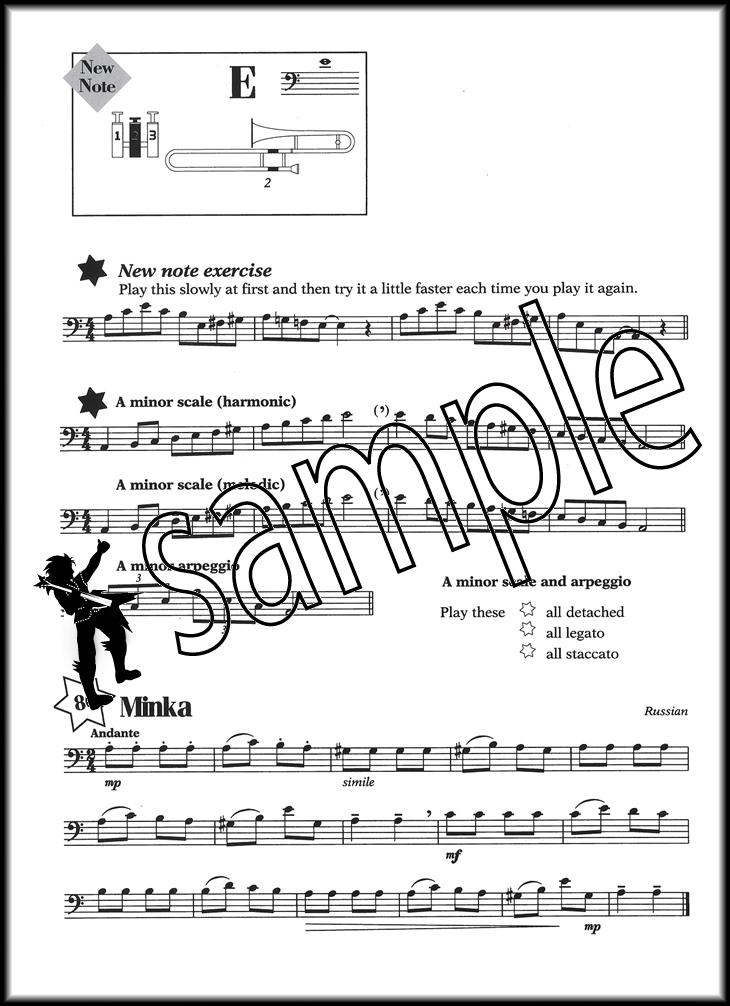 abracadabra brass bass clef trombone baritone euphonium bc sheet music book ebay. Black Bedroom Furniture Sets. Home Design Ideas