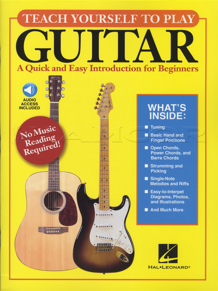Teach yourself to play guitar bookaudio hamcor teach yourself to play guitar bookaudio ccuart Choice Image