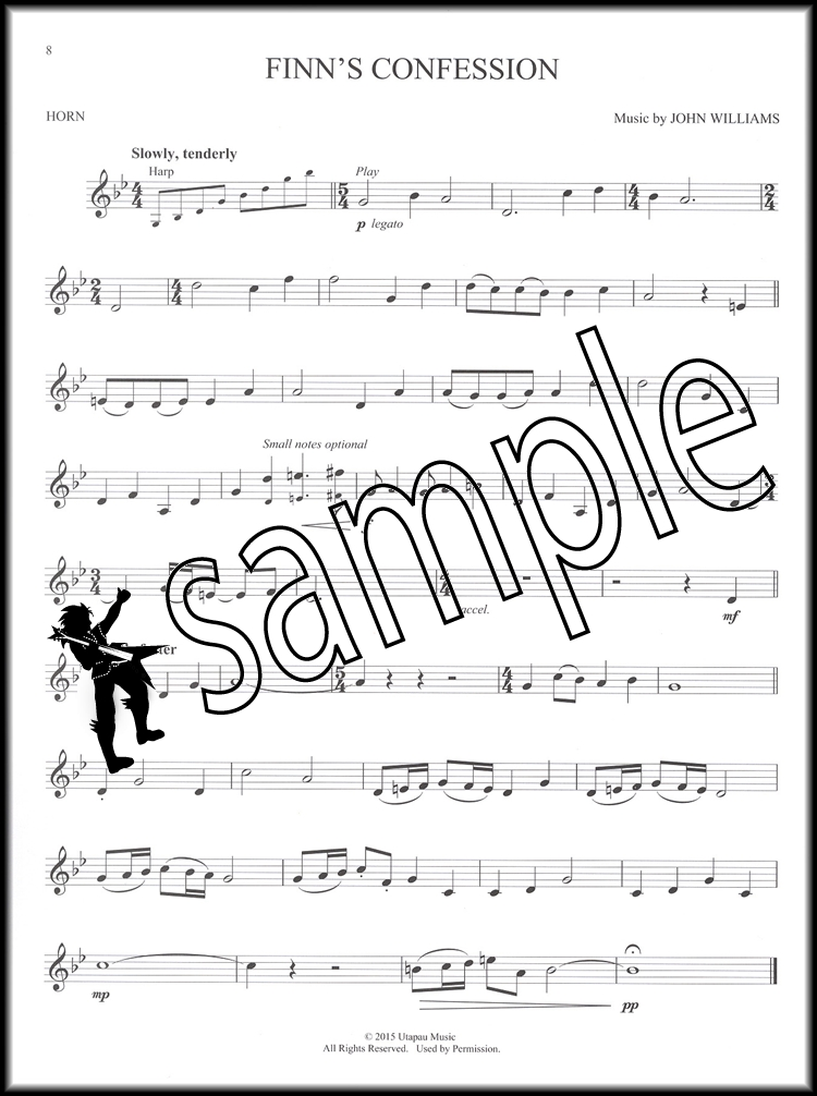 All Music Chords free french horn sheet music : Star Wars The Force Awakens French Horn Sheet Music Book with ...