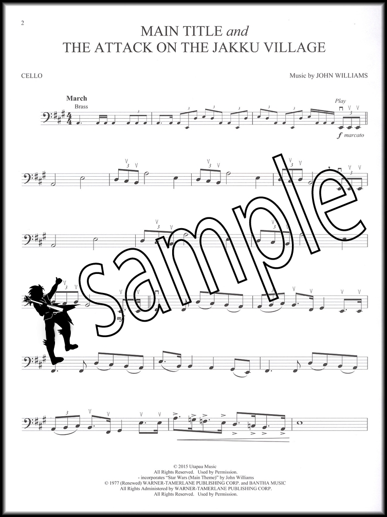 All Music Chords star wars cello sheet music : Star Wars The Force Awakens Cello Book/Audio | Hamcor