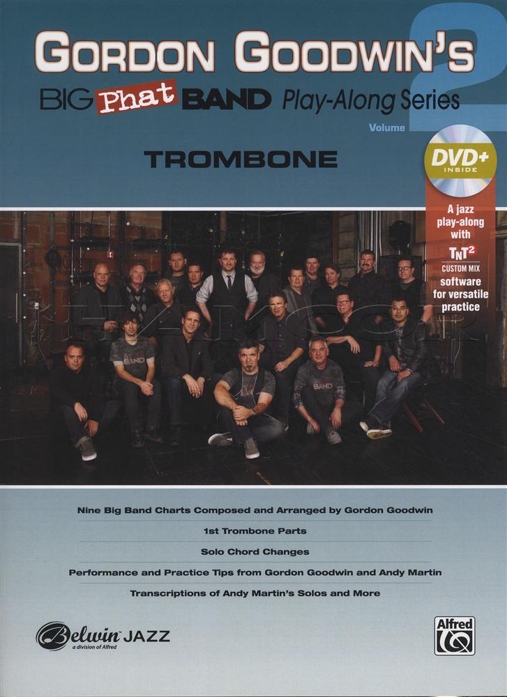gordon goodwin 39 s big phat band play along 2 trombone sheet music book with dvd ebay. Black Bedroom Furniture Sets. Home Design Ideas