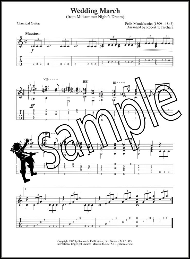 Bridal Chorus & Wedding March Classical & Fingerstyle Guitar | Hamcor