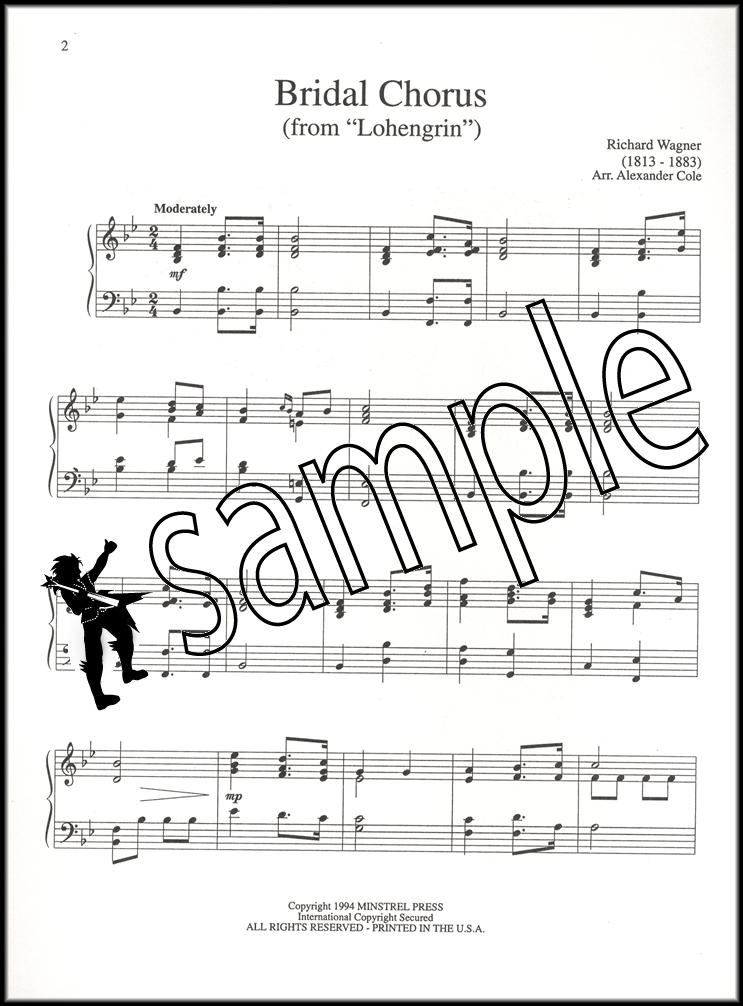 Bridal Chorus Wedding March Masterpiece Piano