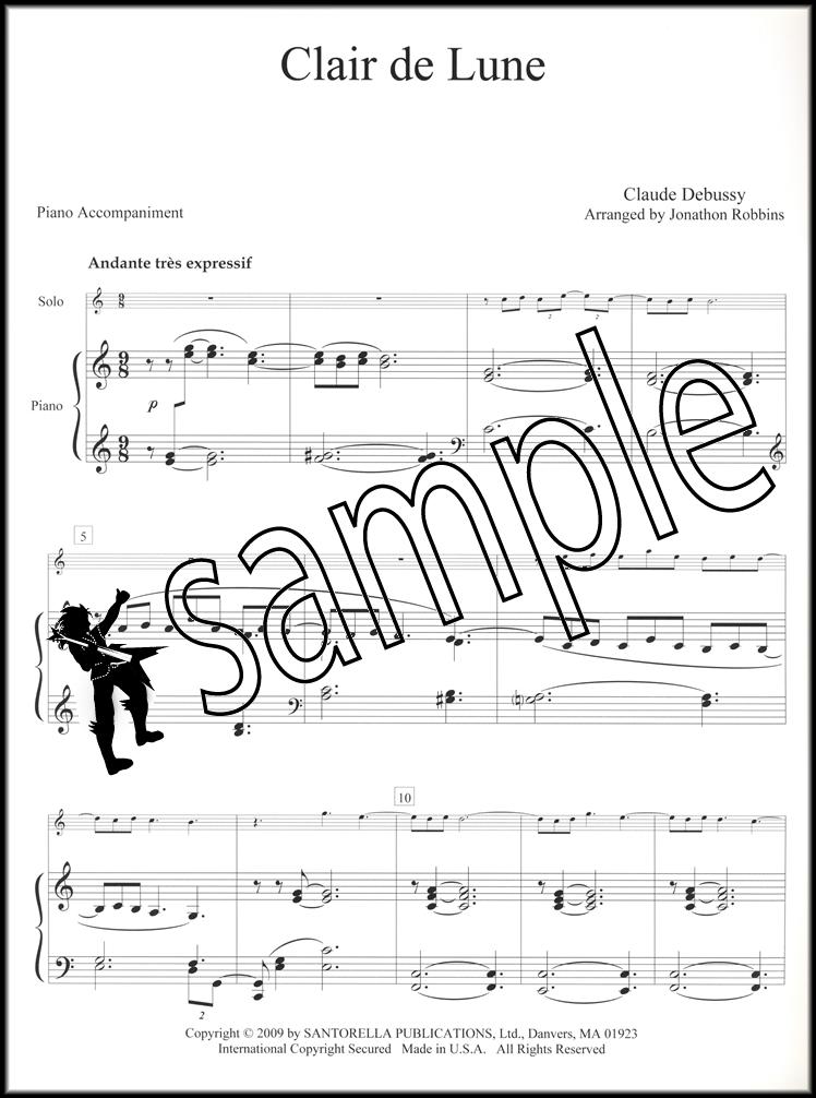 debussy piano sheet music pdf