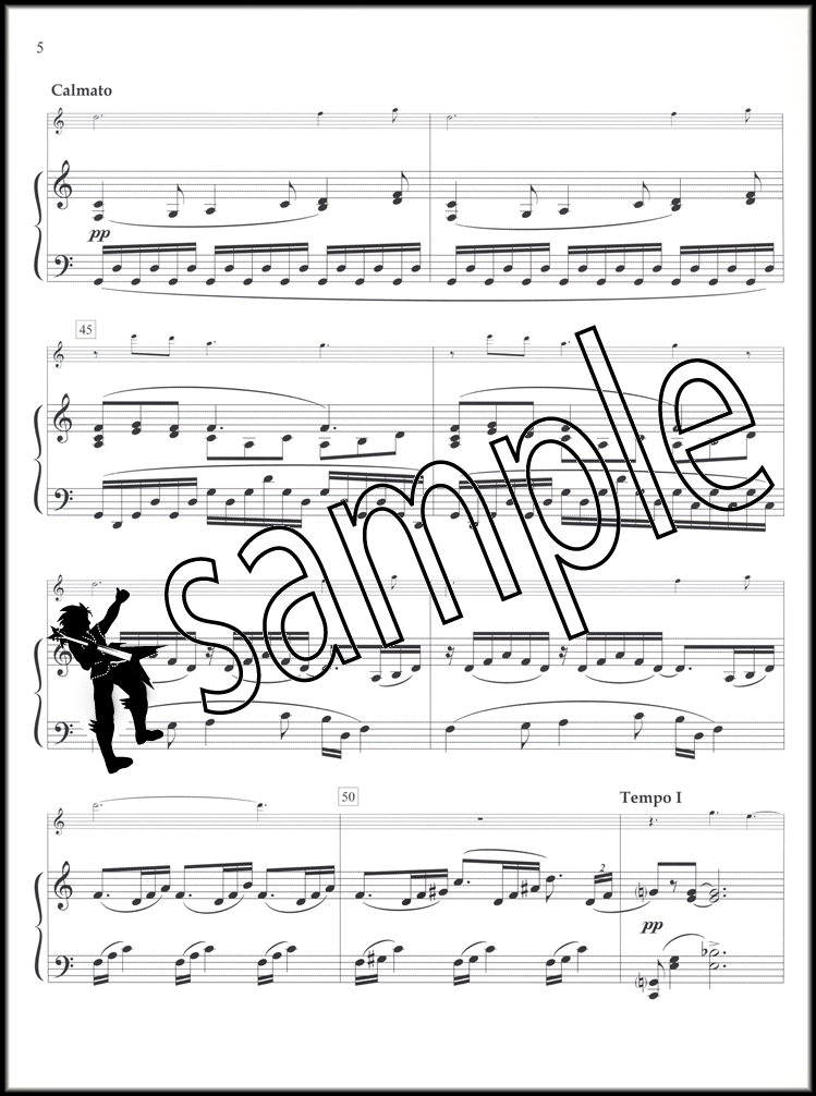 Piano piano and trumpet duet sheet music : Claude Debussy Clair de Lune Trumpet & Piano (All Bb Instruments ...
