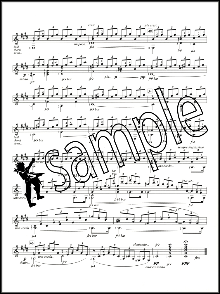 moonlight sonata guitar sheet music pdf
