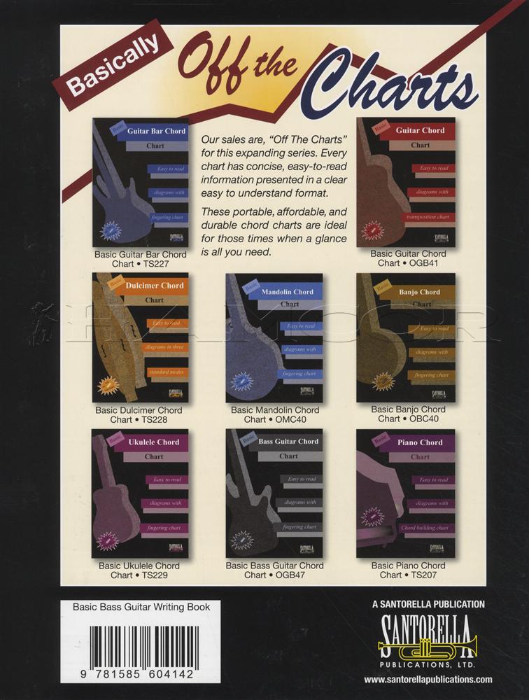 Basic Bass Guitar Writing Book Hamcor
