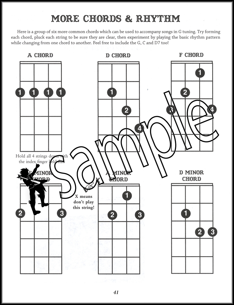 F Chord Banjo Choice Image Chord Guitar Finger Position