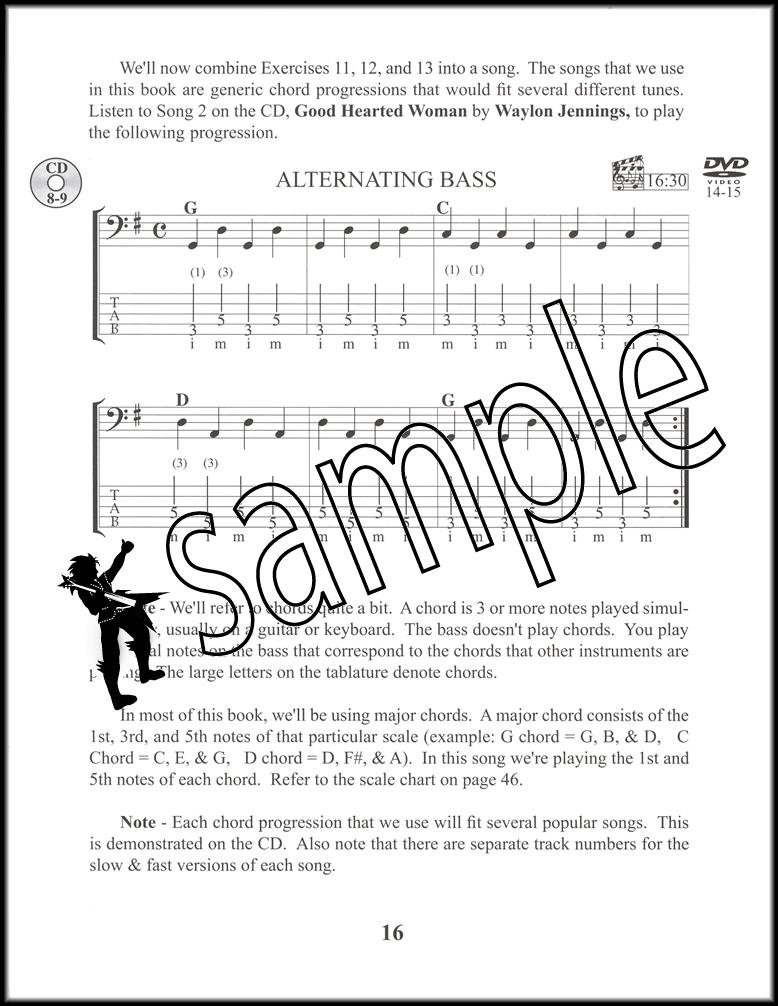 Cdbass Guitar Primer For Beginners Deluxe Bookdvdcd Hamcor