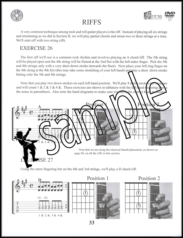 Cdelectric Guitar For Beginners Deluxe Bookdvdcd Hamcor