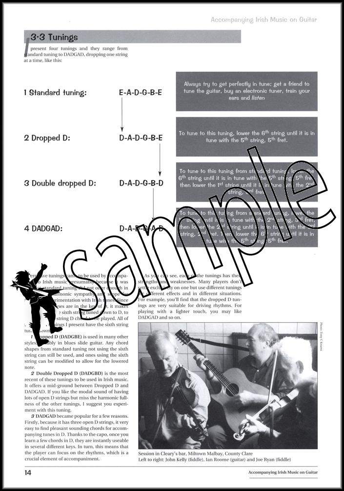 Accompanying Irish Music on Guitar Book/CD   Hamcor