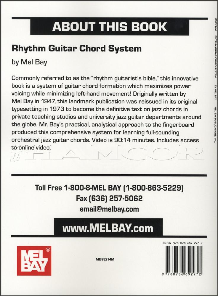 Rhythm Guitar Chord System Bookvideo Hamcor