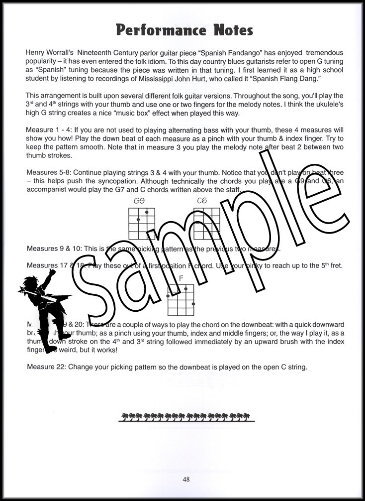 Learn To Play Fingerstyle Solos For Ukulele Bookaudio Hamcor