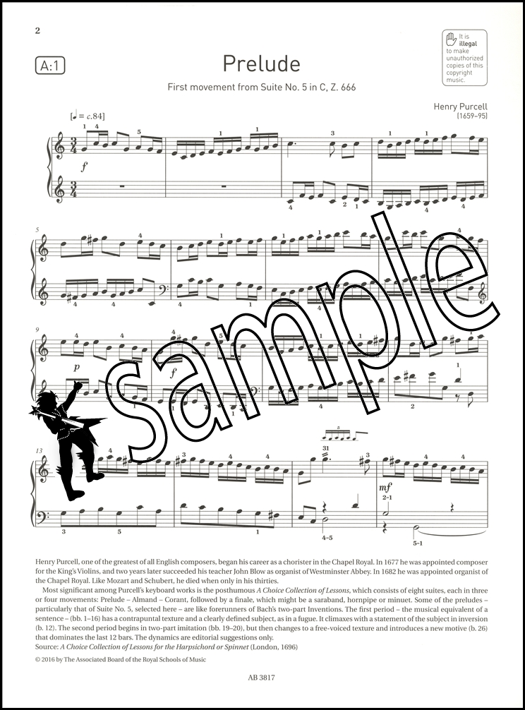 ABRSM Piano Exam Pieces 2017 2018 Syllabus Grade 5 Sheet Music ...