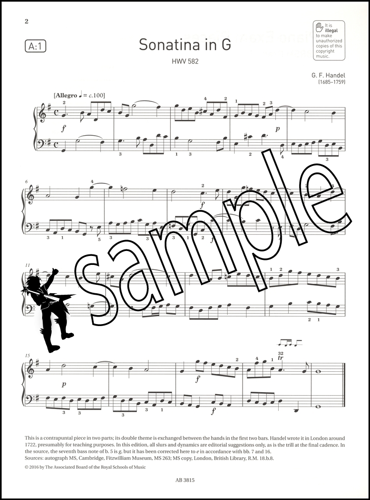 Piano Exam Pieces and Exercises 2018-2020 Grade 2 (UK IMPORT) BOOK NEW
