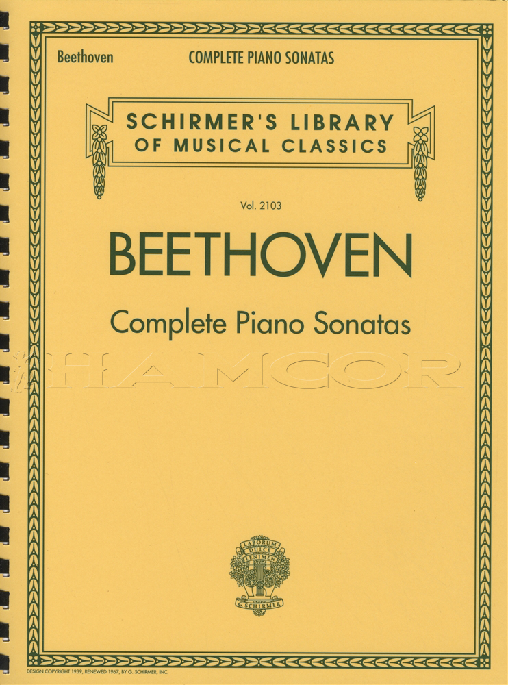 All Music Chords beethoven sheet music : Ludwig van Beethoven Complete Piano Sonatas Sheet Music Book ...