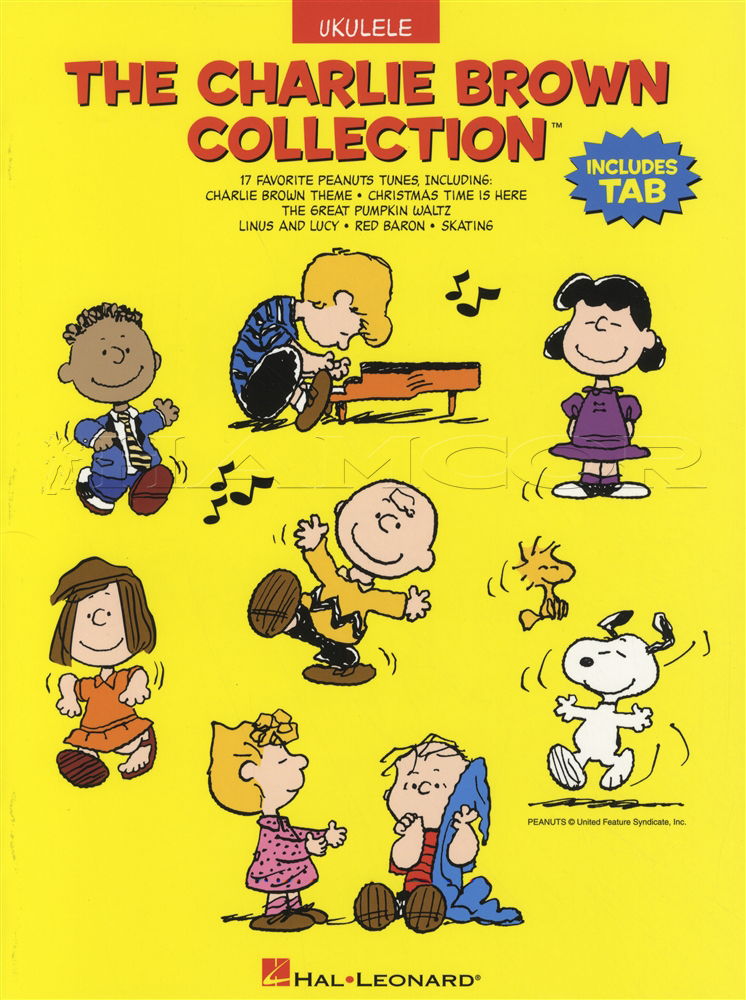 The charlie brown collection for ukulele hamcor the charlie brown collection for ukulele voltagebd Image collections