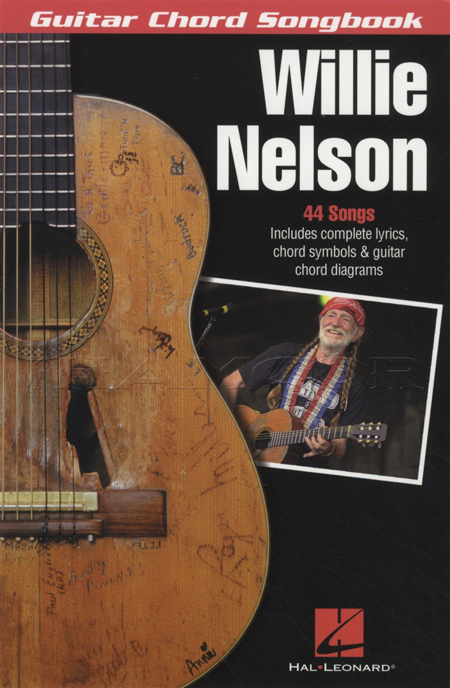Willie Nelson Guitar Chord Songbook Song Book Crazy Georgia On My