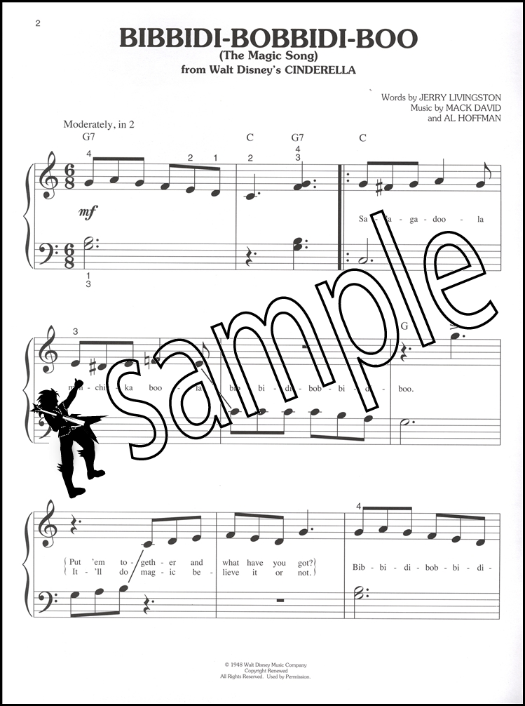 Lyric disney songs lyrics : Classic Disney Songs Big Note Piano Sheet Music Book Pinocchio ...