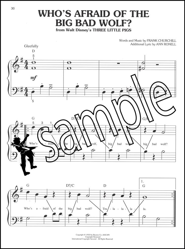 Lyric pinocchio lyrics : Classic Disney Songs Big Note Piano Sheet Music Book Pinocchio ...