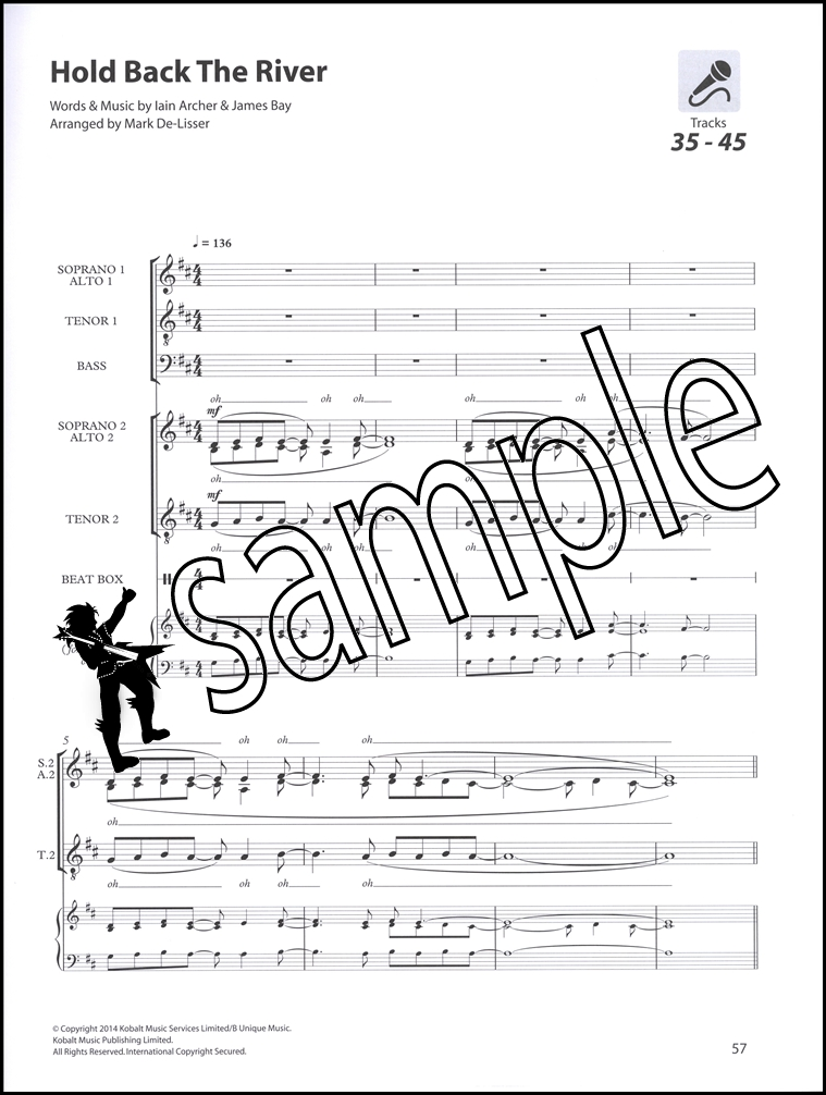Sing Out A Cappella Sheet Music Book with Audio SATB Choir Vocal ...