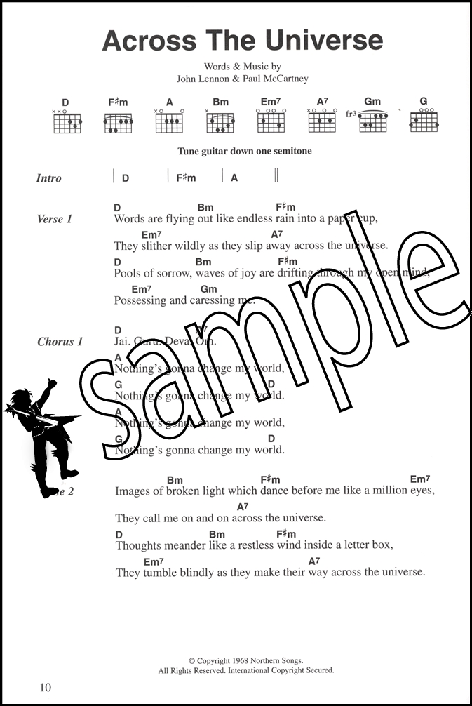The Beatles Complete Chord Songbook | Hamcor