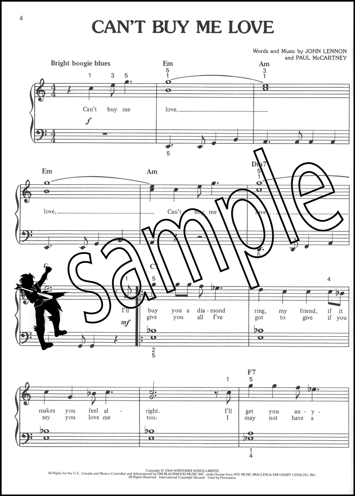 Piano easy piano blues sheet music : The Beatles Greatest Hits Easy Piano Sheet Music Book Hey Jude Day ...