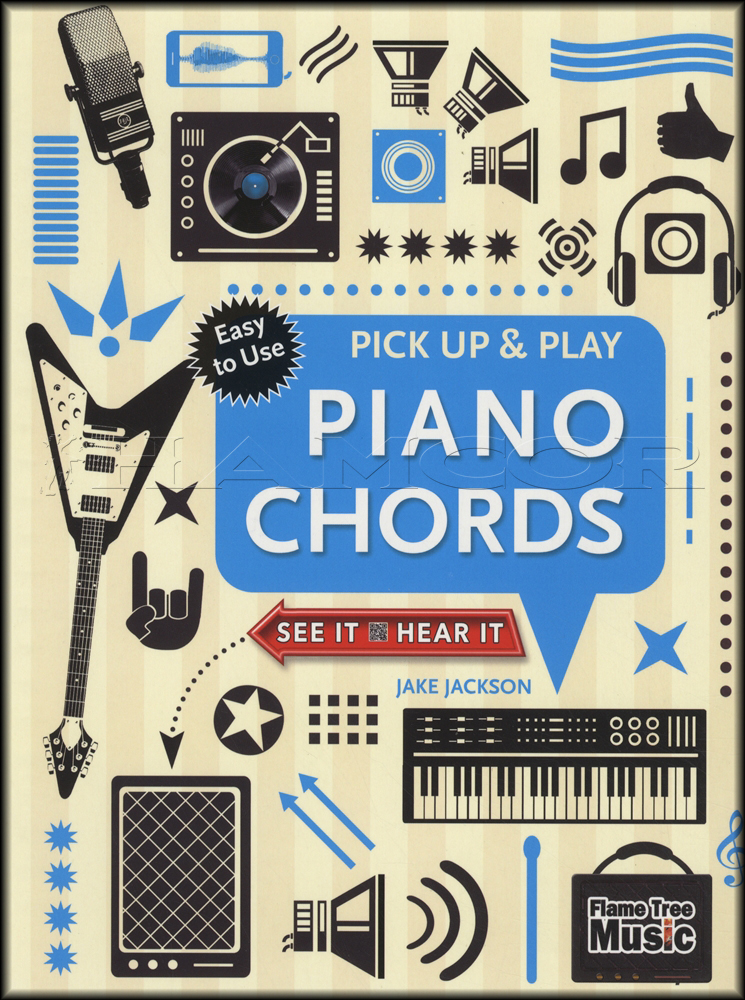 Pick Up Play Piano Chords Sheet Music Book With Audio Ebay