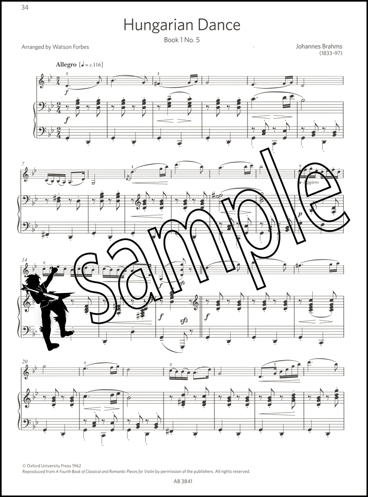 Encore Violin Book 3 Grades 5 & 6 Classical Sheet Music ABRSM Exam ...