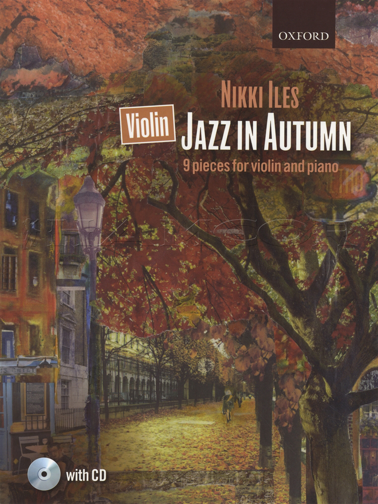 Sentinel Jazz In Autumn For Violin And Piano Sheet Music Book With Cd By Nikki Iles: Landscape Violin Sheet Music At Alzheimers-prions.com