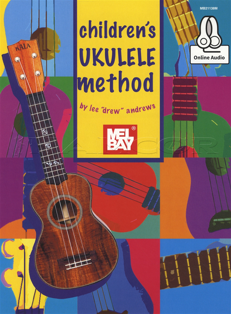 Childrens Ukulele Method Chord Songbook Music Book With Audio Learn