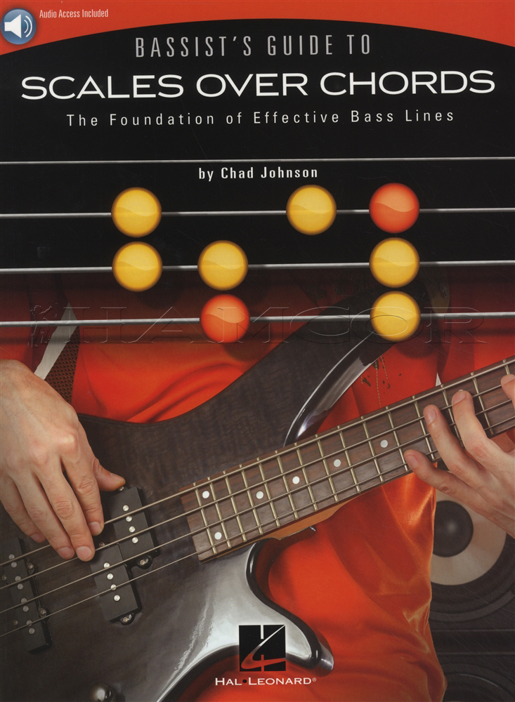 Bassists Guide To Scales Over Chords Tab Music Book With Audio Bass