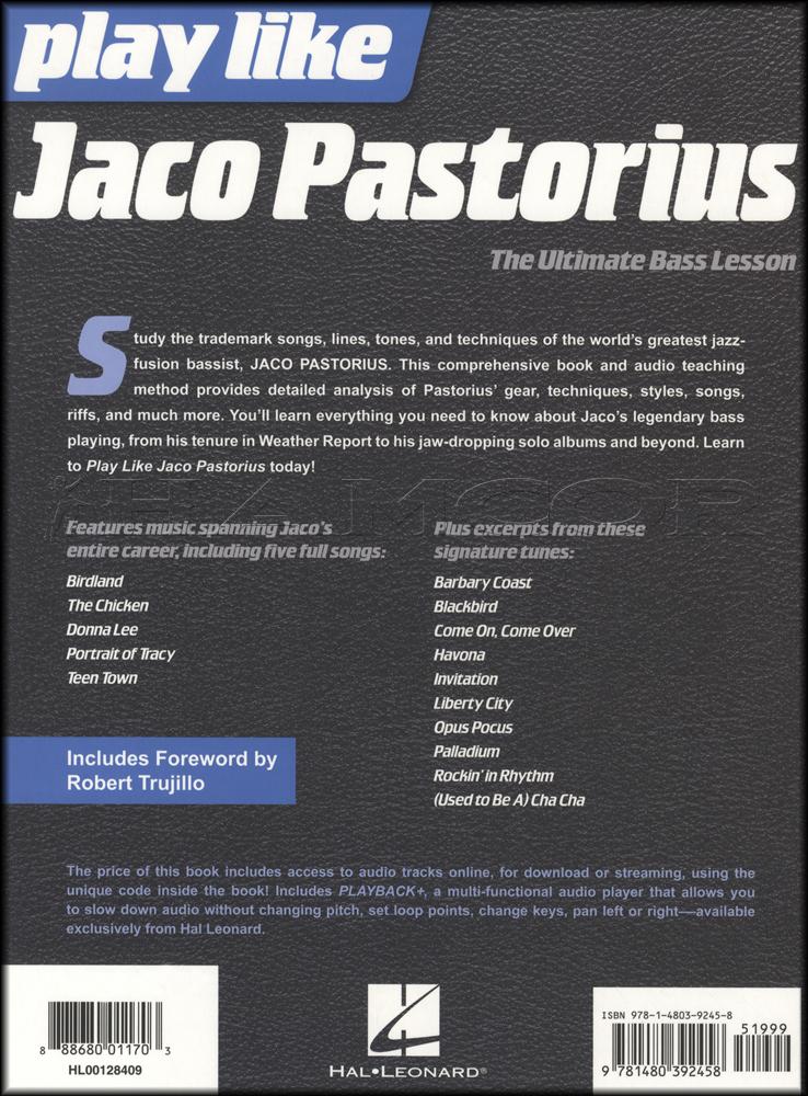 Play like jaco pastorius bookaudio hamcor play like jaco pastorius bookaudio stopboris Choice Image