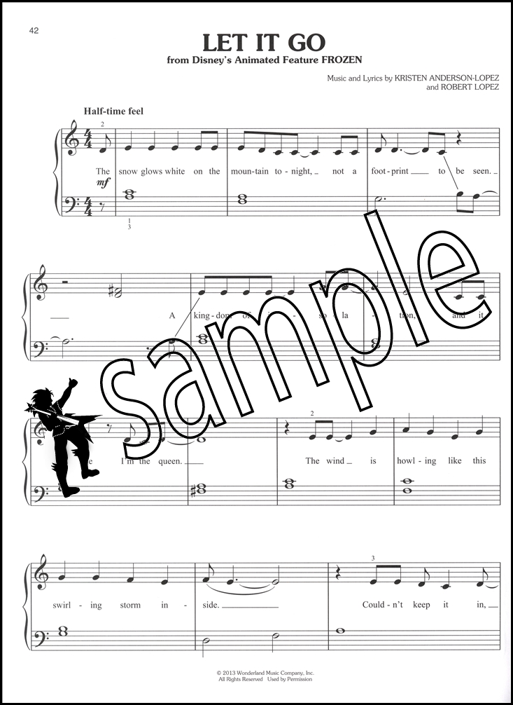 Préférence Simple Songs Easy Piano | Hamcor BM36
