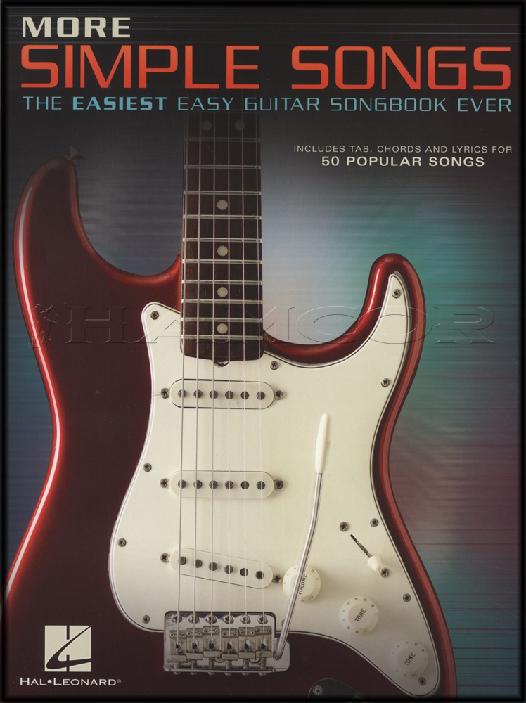 More Simple Songs Easy Guitar TAB Chord Songbook ZZ Top U2 Beatles ...