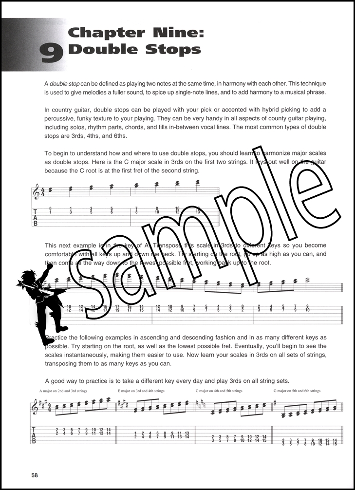 Country Guitar MI Masterclass Book/Audio | Hamcor