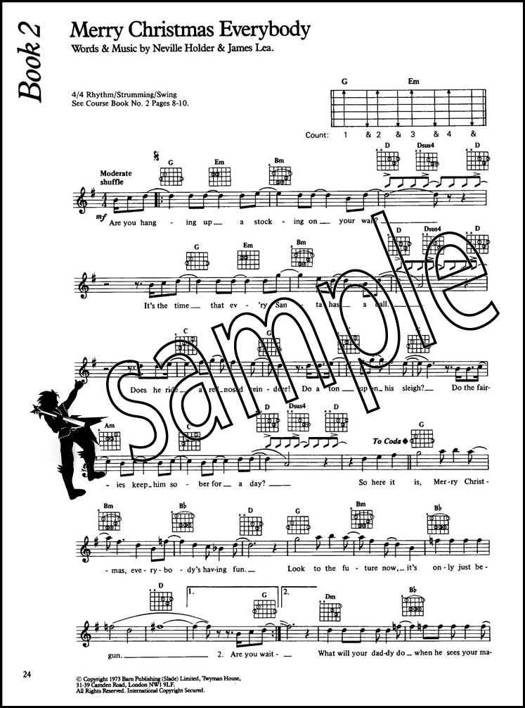 The Complete Guitar Player Christmas Chord & Melody Songbook Happy ...
