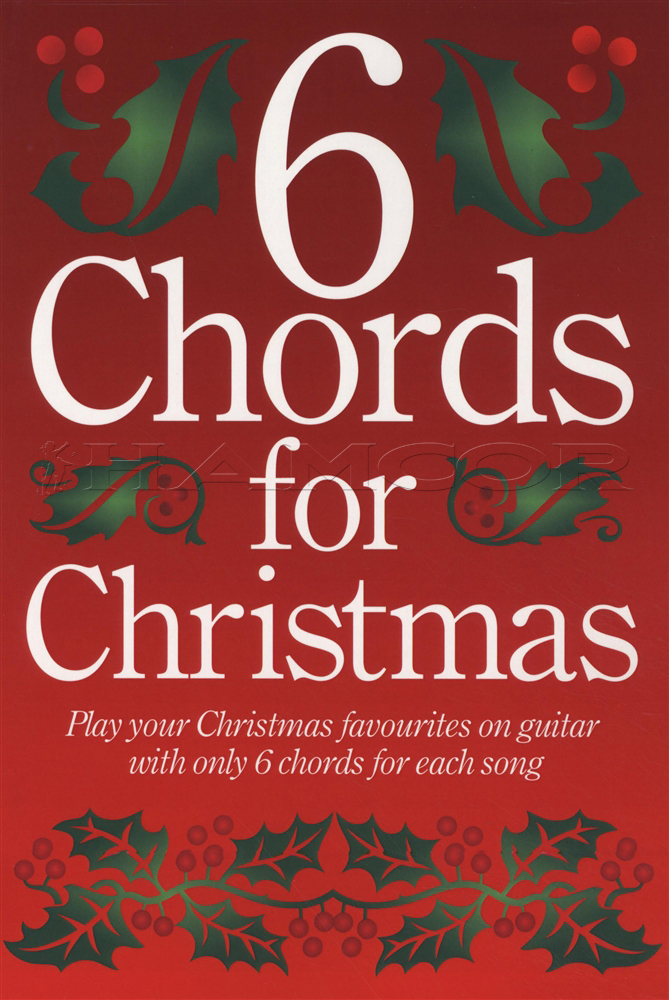 6 Chords For Christmas Guitar Chord Songbook Jingle Bells Xmas Tree