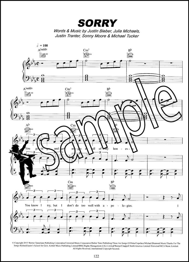 Hits of the Year PVG 2016 Piano Vocal Guitar Sheet Music Book ...